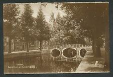 Leiden  Rapenburg en Academie