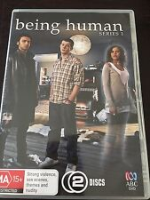 """Being Human : Series 1"" (DVD, 2009, 2-Disc Set, PAL Reg 4) *VGC*"