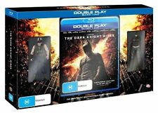 The Dark Knight Rises Blu-ray DVD W/ Collectible Batman and Bane Figurines