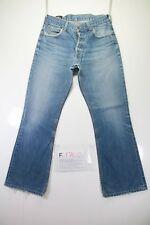 Lee Denver(Cod.F1702)Tg46 W32 L34 jeans SHORTENED used High Waist vintage Paw
