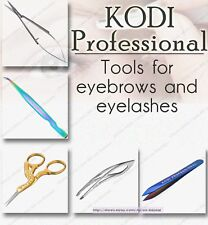 NEW! Kodi professional Scissors and tweezers for eyebrows and eyelashes