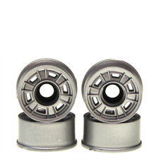 CERCHI 1:24 CLASSIC FERRARI 246GT DINO FORO ARGENTO 8.5 mm 4 pezzi MINI-Z KYOSHO