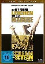 Die lebenden Leichen des Dr. Mabuse- Vincent Price, Peter Cushing DVD