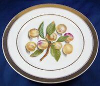 Antique Darte Freres Paris Porcelain Fruit Scene Plate Porzellan Teller French