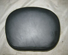 Harley-Davidson Black Leather BACK REST PAD Sissy Bar BACKREST PAD Multi-Fit