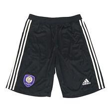 Orlando City SC MLS Adidas Men's Black Team Crest Shorts