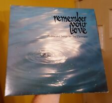 THE DAMEANS Remember Your Love Psalms and Songs LP Vinyl  1978 SEE & HEAR VIDEO