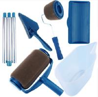 8pcs Wall Decorate Painting Roller Brush Set Paint Runner Pro Brush DIY Tool Kit