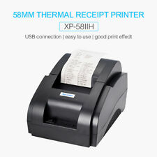 XP-58IIH 58mm Thermal Receipt Pirnter USB Low Noise 90mm/s Print Fit Supermarket