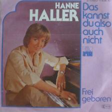 """7"""" 1978 ! HANNE HALLER : Das kannst Du also auch nicht /MINT-?"""