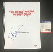 SUSAN SARANDON SIGNED AUTOGRAPH ROCKY HORROR PICTURE SHOW FULL MOVIE SCRIPT PSA