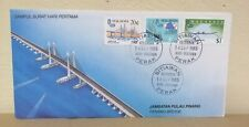 FDC Malaysia 1985 - Penang Bridge