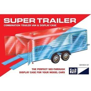 MPC 909 Super Display Case Trailer Model Kit 1:24 Scale MPC