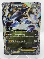 2012 Black Kyurem EX Black Star Promo Holo Pokemon Card NM BW62