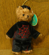 Bearington Plush Ornaments #1843 SPINNER, NEW w tag Halloween retired, 4.5""