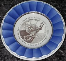 1980 Royal Copenhagen Fayence Marine-PIATTI DI NATALE søværnet Julen 1. scelta