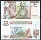 BURUNDI - BILLETE DE 50 FRANCOS 2007 Pick#36g SC UNC