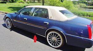 Cadillac 2000 2001 2002 DEVILLE DTS DHS Rocker Panel Trim!!