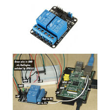 5V 2 Channel Relay Module for Arduino PIC ARM DSP AVR Raspberry Pi