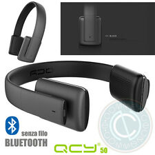 QCY QCY50 50 CUFFIE WIRELESS BLUETOOTH V4.1 HEADPHONES CVC 6.0 IPHONE IOS APT-X