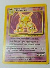 Pokémon - Alakazam Base Set Card Holo 1999 WOTC - NEAR Mint condition.
