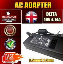 ORIGINAL 19V DELTA TOSHIBA P750-113 NOTEBOOK 90W AC ADAPTER CHARGER UK