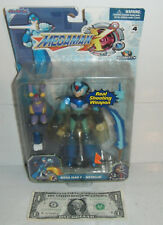 MEGA MAN X - METALLIC 6 Inch Action Figure NEW Capcom Jazwares Complete 2004