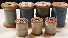vintage wood thread spools coats and clarks henry myer american thread company