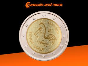 2 Euro Estland 2021 Finno-ugrische Völker unc.
