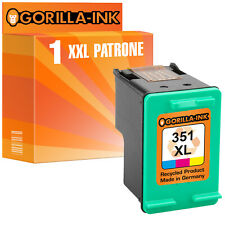 1 Patrone für HP 351 XL Photosmart C4200 C4280 C4380 C5280 Officejet J5780 J6424