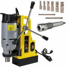 """Steel Dragon Tools® Md25 Magnetic Drill Press with 7pc 1"""" Small Size Cutter Kit"""