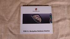 OEM Porsche GPS / NAV / Navigation DVD for PCM 3.1 Database America / V 08.2009
