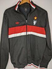2006 Adidas AC MILAN MEDIOLANUM Soccer Track Jacket Mens Large World Cup