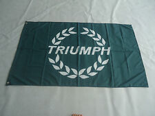 2017 car racing flag banner flags 3x5FT free shipping for Triumph Flags