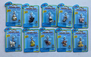 Ganz Webkinz Collectible Charms Lot of 10 PANDA PANCHO GORILLA PIG MONKEY WELL