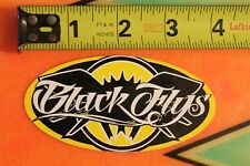 BLACK FLYS Sunglasses Shades Eyewear Surfing Skateboarding STICKER