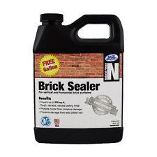 Premium Grade BRICK SEALER Water Repellent Protection (Makes 2 Gal - 1 Free!)