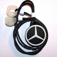 ADULT'S 2 Hearing Aids longer Leash RETAINER CLIP for 2 H.A.'s    SPORTS CAR