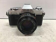 Minolta X-370 35mm SLR Film Camera with 50mm lens