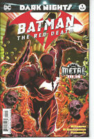 Batman the Red Death #1 2nd Printing  DC Comics Metal  NM Flash TV Dark Nights