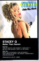 Stacey Q Better Than Heaven 1986 Cassette Tape Album Pop Dance Rock 80s 90s