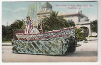 [49148] OLD POSTCARD TOURNAMENT OF ROSES NEW YEARS PARADE, PASADENA, CALIFORNIA