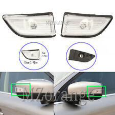 Left Right Side Door Wing Mirror Indicator Light Cover For Volvo XC60 DZ 2008-13