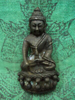 Phra Kring Statue Buddha LP Mhun Wat Banjan Talisman b.e.2552 Thai Amulet