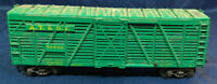 ATHEARN: AT  & SF 50656, GREEN STOCK CAR. HO SCALE VINTAGE