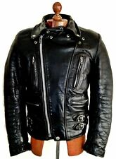 Vtg 60's LEWIS LEATHERS AVIAKIT Motorcycle Biker Cafe Racer Bike Jacket Coat