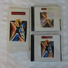 Vintage TINA TURNER Live in Europe Compact Discs   2 discs   NM