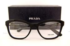 b6dfce71ac9 PRADA 29rv Eyeglasses 1ab1o1 Black 100 Authentic