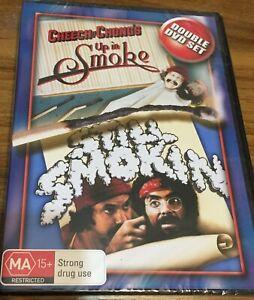 Cheech & Chong's Up In Smoke / Still Smokin' - DOUBLE DVD - NEW - *FREE STD POST