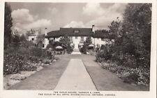 Postcard RPPC The Guild House Garden & Lawn Ontario Canada